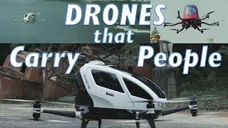 getlinkyoutube.com-Top 5 Drones Carrying People