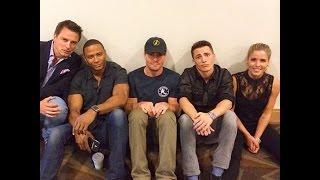 getlinkyoutube.com-Stephen Amell & The Arrow Cast (Humor)