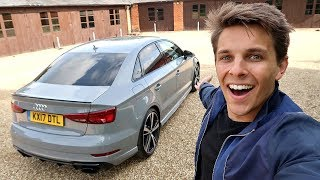I GOT A NEW AUDI RS3 SALOON!!