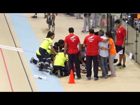 Trágico Accidente en ciclismo ODESUR 2014