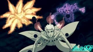 『AMV』Naruto, Sasuke & Kages vs Obito Jinchuuriki【HD】- Falling Inside The Black