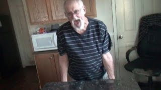 getlinkyoutube.com-GRANDPA'S TABLE FAIL! (Goes to the hospital!)