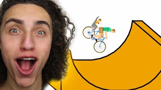 getlinkyoutube.com-HIT A STUNT - Happy Wheels #1