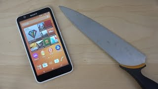 getlinkyoutube.com-Sony Xperia E4 Knife Fun! (4K)