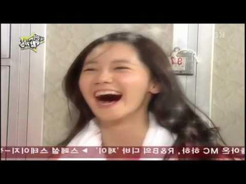 SNSD Funny Video [Cute Yoona] sauna
