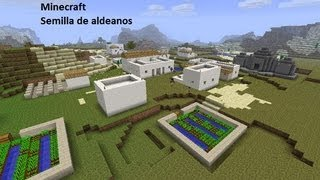 getlinkyoutube.com-Minecraft- Semilla aldea