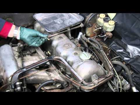 Mercedes W113 280SL Pagoda Rescue Part 7 - Fuel Injector Removal w/Kent Bergsma