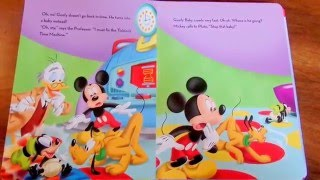 getlinkyoutube.com-Mickey Mouse Clubhouse Storybook Goofy Baby