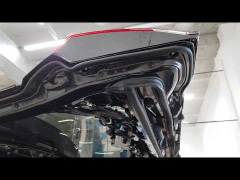 Toyota LC200 2017 демонтаж задних фонарей.ч2