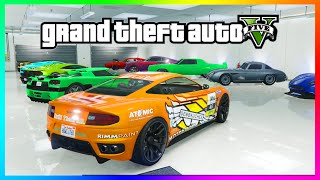 "getlinkyoutube.com-GTA 5 NEW DLC Garage Tour - ""Ill Gotten Gains"" Vehicles, Super Cars & MORE! (GTA 5 Gameplay)"