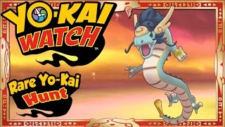 getlinkyoutube.com-Yo-Kai Watch - RARE Yo-Kai Hunt 1 | Azure Dragon, Flengu, & More!