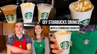 getlinkyoutube.com-DIY Starbucks Drinks With a Starbucks Barista!