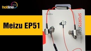 Meizu EP51– обзор беспроводных спортивных наушников