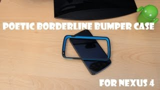 Poetic Borderline Bumper Case For Nexus 4