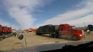 Spóźniona dostawa w ND , odbiór w MN , powrót do AB