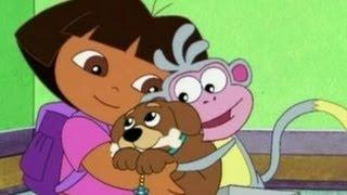 getlinkyoutube.com-Dora the explorer : Puppy and Dora Adventure MovieGame