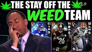getlinkyoutube.com-THE STAY OFF THE WEED TEAM!! MADDEN 17 ULTIMATE TEAM SQUAD BUILDER