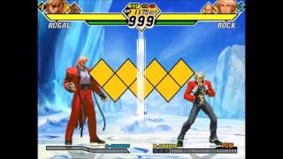 getlinkyoutube.com-[TAS] CvS2 - Arcade (Ratio) - Rugal, Boxer (A-Groove)