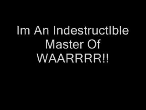 Disturbed-Indestructible(LYRICS)