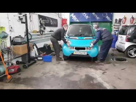 Smart fortwo coupe замена термостата и проблемы ручек. SmartUA