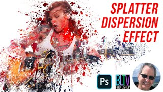 getlinkyoutube.com-Photoshop Tutorial: How to Create a Dispersion, Splatter Effect!