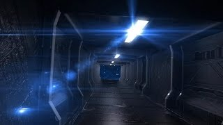 getlinkyoutube.com-Green Screen Corridor Alien Spacecraft Space Stars HD - Footage PixelBoom