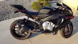 getlinkyoutube.com-2015 Yamaha R1 Graves 3/4 exhaust