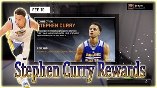 getlinkyoutube.com-NBA 2K16 (Connection) | Stephen Curry Rewards!!