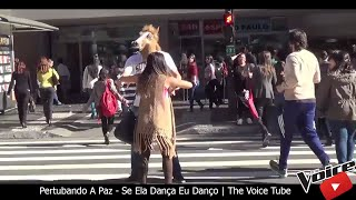 Pertubando A Paz - Se Ela Dança Eu Danço | The Voice Tube