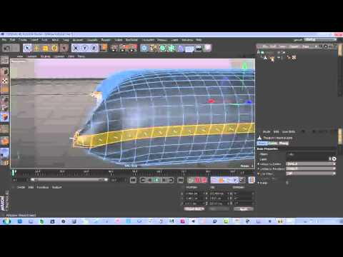 How to make a Pillow on Cinema 4D