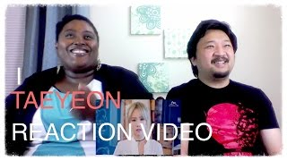 getlinkyoutube.com-Taeyeon I feat Verbal Jint K-Pop Reaction
