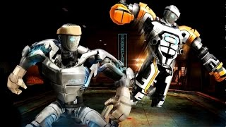 getlinkyoutube.com-Real Steel Champions FINAL Atomprime Series of fights NEW ROBOT (Живая Сталь)