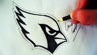 getlinkyoutube.com-Como Desenhar a logo Arizona Cardinals [NFL] - (How to Draw Arizona Cardinals logo) - NFL LOGOS #2