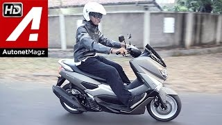 getlinkyoutube.com-Review & test ride Yamaha NMax Indonesia