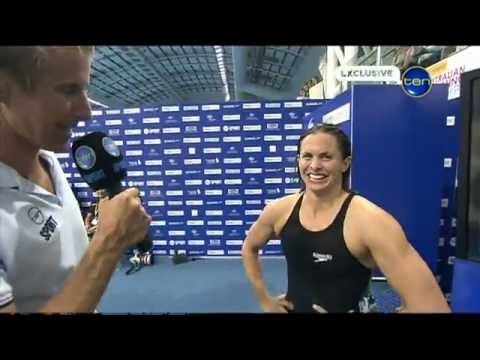 Libby Trickett quick poolside flex