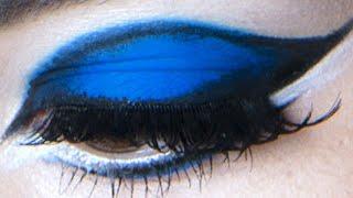 getlinkyoutube.com-BLUE EYESHADOW TUTORIAL | Make-Up Atelier Paris
