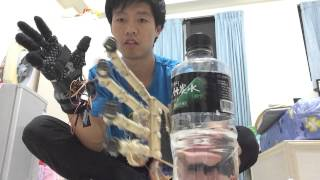getlinkyoutube.com-Arduino robot hand wireless controlled