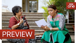 getlinkyoutube.com-Sunetra Sarker's aunt was friends with Gandhi - Who Do You Think You Are?: Episode 9 Preview - BBC