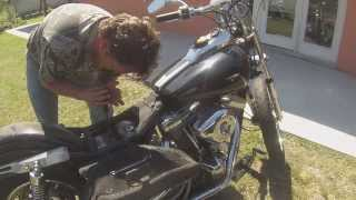 getlinkyoutube.com-Harley FXR is brought back to life, and we drink all the beers!