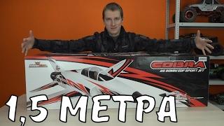 getlinkyoutube.com-Самолет 1,5 метра на 8S Lipo .... Cobra Sport Jet