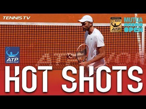 Hot Shot: Wily Karlovic`s Sharp Reactions At Madrid 2017