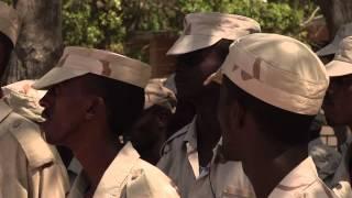 getlinkyoutube.com-SOMALI FORMED POLICE SING; 'Defend Your Security'