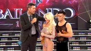getlinkyoutube.com-Por toquetón, Tinelli le dio un par de correctivos a Jorge Moliniers, el bailarín de Luli Salazar