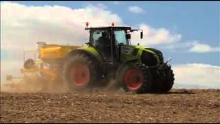Claydon Drills, Hybrid Fertiliser Drill with Mause Bussard