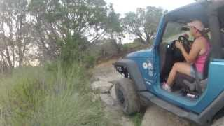 getlinkyoutube.com-Texas Jeep Girls Bouncing Bikini Crawl #1