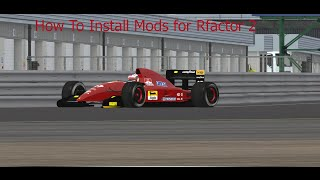 How to install mods on Rfactor2