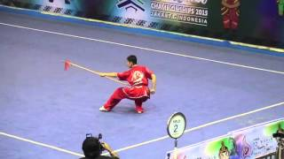13th World Wushu Championships 2015 - Qiangshu Male