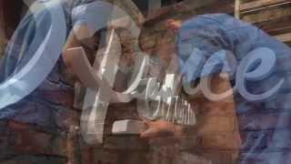 getlinkyoutube.com-für die neue Werkstatt von JP Performance baute Wall-Body den internen Schriftzug...