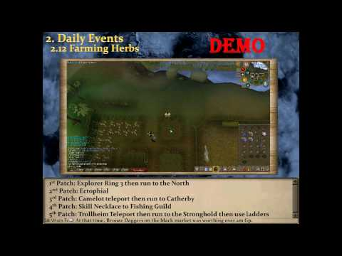 Runescape Money Making Guide -1472k in 25 min- Daily Events Part 3 by Idk Whats Rc