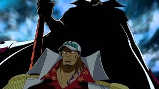 getlinkyoutube.com-Whitebeard vs Akainu [Marine Fort Arc] Full Fight Round 2 [One Piece] Engsub